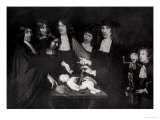 The Anatomy Lesson of Professor Frederik Ruysch circa 1683 Giclee Print by Jan Van Neck
