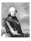 Portrait of Etienne-Francois, Duke of Choiseul Giclee Print by Louis-Michel van Loo
