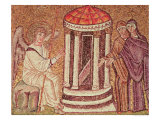 The Marys at the Tomb, Scenes from the Life of Christ Giclee Print
