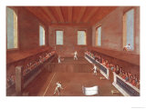 Game of Racquets Giclee Print by Gabriele Bella