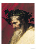 Head of an Old Man, Fragment from the Triumph of Bacchus Giclee Print by Jusepe de Ribera