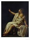 Polyhymnia, the Muse of Lyric Poetry, 1620 Lámina giclée por Giovanni Baglione