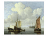 Seascape Giclee Print by Willem Van De Velde The Younger