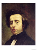 Portrait of Frederic Chopin Giclee Print by Thomas Couture