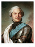 Marshal Maurice de Saxe Giclee Print by Maurice Quentin de La Tour