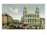 View of the Church of Saint-Sulpice Giclee Print by Henri Courvoisier-Voisin