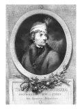 Tadeusz Kosciuszko, Published 1794-98 Giclee Print by Josef Grassi