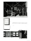 Interior of a Printing Works and Plan of a Press, Plate from 
