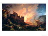 Coalbrookdale by Night, 1808 Premium Giclee Print by Philip James De Loutherbourg