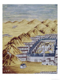 Mecca Surrounded by the Mountains of Arafa Giclee Print