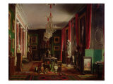 Interior of the Office of Alfred Emilien Count of Nieuwerkerke Giclee Print by Charles Giraud