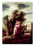 The Parable of the Good Samaritan Giclee Print by Domenico Fetti