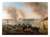 Battle in the Place de La Concorde, 1871 Giclee Print by Boulanger