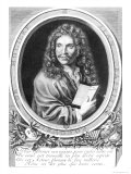 Portrait of Moliere Giclee Print by Nicolas Habert