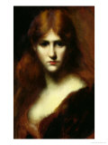Portrait of a Woman Giclee Print by Jean-Jacques Henner