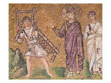 The Healing of the Paralytic of Capernaum, Scenes from the Life of Christ Giclee Print