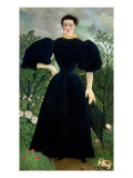 Portrait of a Woman, circa 1895-97 Giclee Print by Henri Rousseau