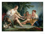 Diana after the Hunt, 1745 Giclee Print by Francois Boucher