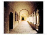 Interior View of the Cloister, Founded in 1148 Giclee Print