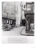 Rue de La Montagne Sainte-Genevieve, Paris, 1858-78 Giclee Print by Charles Marville