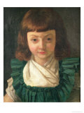Portrait of Louis XVII as a Child, 1791 Gicl&#233;e-Druck von Antoine Vestier