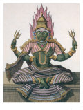 "Parvati, from ""Voyage aux Indes et a La Chine"" Published 1782 Giclee Print by Pierre Sonnerat"