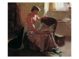 Sweet Dreams, 1892 Giclee Print by Edwin Harris