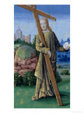 "Christ with the Cross and the Orb, from the ""Book of Hours of Louis D'Orleans"", 1469 Giclee Print by Jean Colombe"