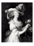 Copy of a Portrait of Marie-Antoinette after 1783 Impression giclée par Elisabeth Louise Vigee-LeBrun