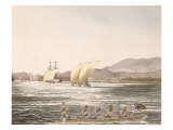 View of Manila, Philippines, 1826 Giclee Print by Ludwig Choris