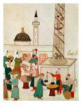 A Bazaar in Istanbul, circa 1580 Giclee Print