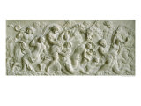 Relief Depicting Nereids Carried Away by Tritons Reproduction proc&#233;d&#233; gicl&#233;e par Gerard Van Opstal