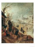 Winter Scene Giclée-Druck von Sebastian Vrancx
