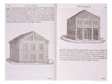 Development of Housing, from &quot;Della Architettura&quot;, Published 1590 Reproduction proc&#233;d&#233; gicl&#233;e par Giovanni Antonio Rusconi