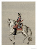 Equestrian Portrait of Prince Charles de Beauveau-Craon Giclee Print by Pierre Antoine Lesueur