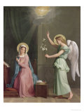 The Annunciation, 1859 Giclee Print by Auguste Pichon
