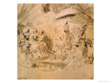 The Emperor Timur on His Throne, after an Indian Miniature Giclee Print by  Rembrandt van Rijn