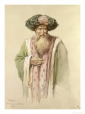 Dervish - from Bosnia Giclee Print by Amadeo Preziosi