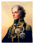 Portrait of Lord Horatio Nelson Giclee Print by Friedrich Heinrich Fuger