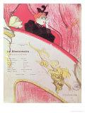 """Cover of a Programme for """"Le Missionaire"""" at the Theatre Libre, 1893-94 Impression giclée par Henri de Toulouse-Lautrec"""