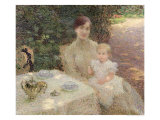 In the Garden, 1904 Giclee Print by Ernest-Joseph Laurent