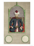 Orkhan Son of Osman, Second Emperor of the Turks in the Year 1326 Giclee Print by C. Du Bose