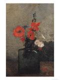 Flowers, 1857 Giclée-Druck von Antoine Vollon