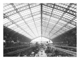 Machinery Hall, Universal Exhibition, Paris, 1889 Giclee Print by Adolphe Giraudon