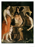 Venus in Vulcan's Forge, 1641 Giclee Print by  Le Nain Brothers