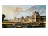The Palace and Garden of the Tuileries, 1757 Giclee Print by Nicolas Raguenet