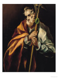 St. Jude Thaddeus, 1606 Giclee Print by  El Greco