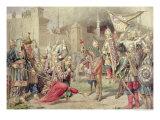 Tsar Ivan IV Vasilyevich the Terrible Conquering Kazan, 1880 Giclee Print by Aleksei Danilovich Kivshenko