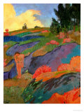 Breton Eve Or, Melancholy, circa 1890 Giclee Print by Paul Serusier