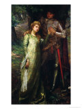 A Knight and His Lady Giclee Print by William G. Mackenzie